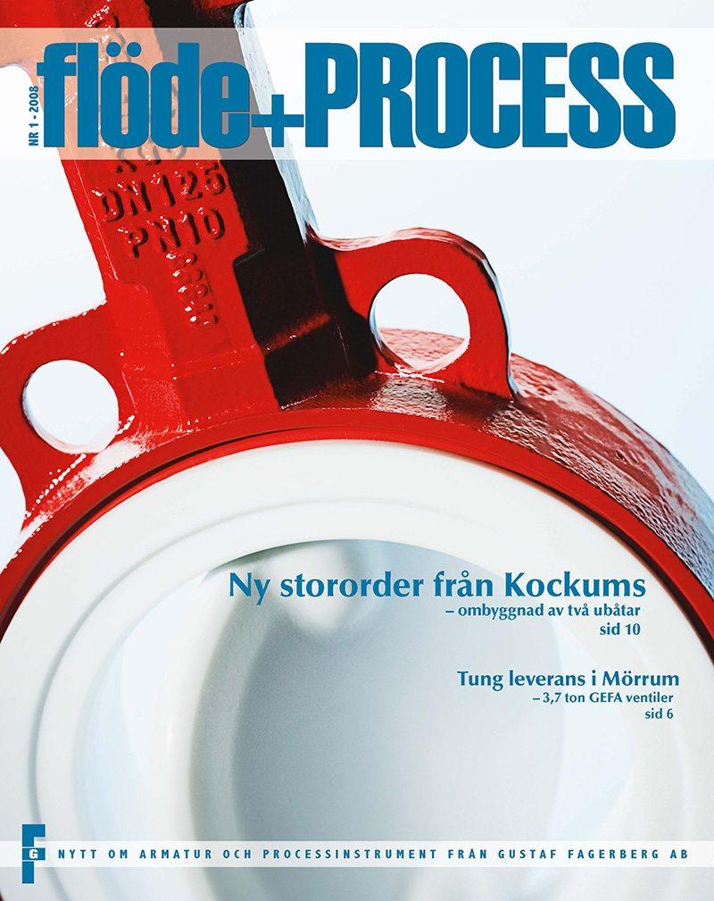 Flöde & Process – en kundtidning från Gustaf Fagerberg
