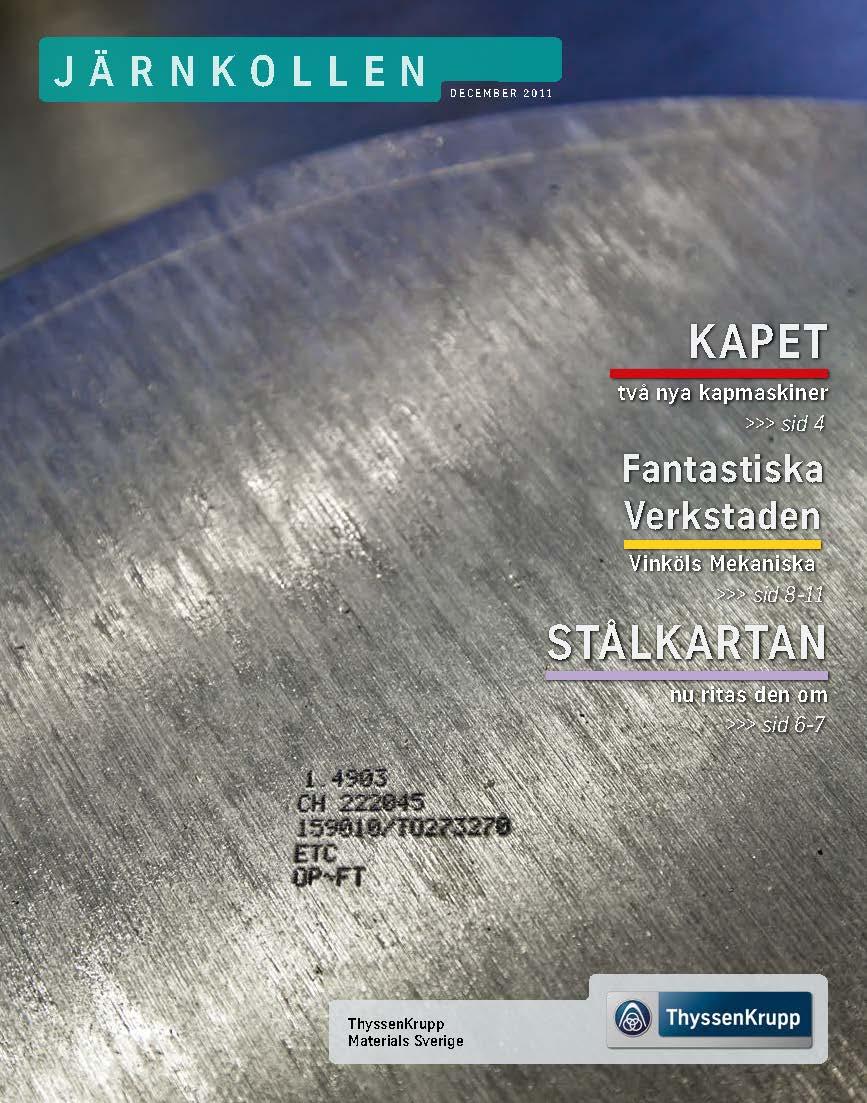 Järnkollen – en kundtidning från ThyssenKrupp