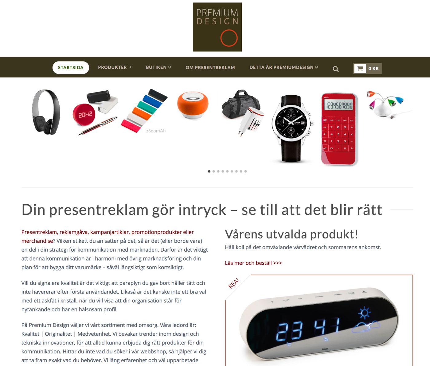 PremiumDesign webbutik
